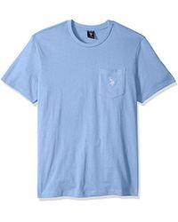 U.S. POLO ASSN. - Crew Neck Pocket T-shirt - Lyst