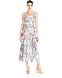 Kasper Multi Tiered Maxi - Blue