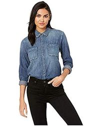 AG Jeans Selena Shirt - Blue