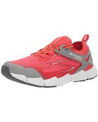 Columbia Fluidflex X.s.r. Sneaker, Red Coral, Summer Orange, 6 Regular Us - Multicolor