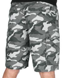 Carhartt Rugged Cargo Camo Short Relaxed Fit,Rugged Gray Camo,31