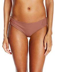 a3c48914fb Tori Praver Swimwear - Solid Bethany Classic Fit Bikini Bottom - Lyst