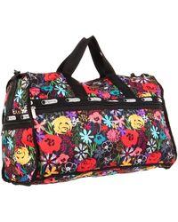 LeSportsac Large 7185p Duffle Bag,lush,one Size - Red