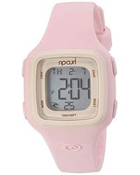 Rip Curl Candy Plastic And Silicone Water Sport Watch - Pink