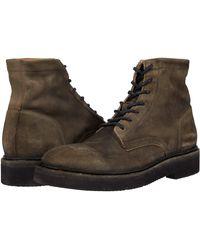 Frye Bowery Light Lace Up Combat Boot - Black