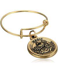 ALEX AND ANI Phoenix Ewr Rafaelian Gold Stackable Ring - Metallic