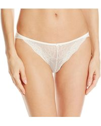 Maidenform All Over Lace Tanga - White