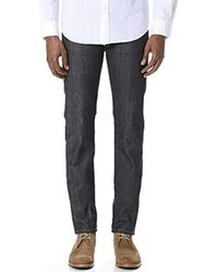 Naked & Famous - Skinnyguy Jean In Indigo Power-stretch - Lyst