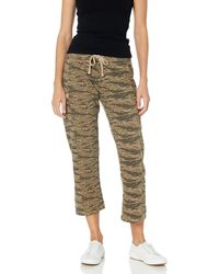 Alternative Apparel Terry Cropped Utility Pant - Green