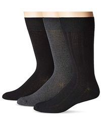5fc52af4ac2b Perry Ellis - Portfolio 5 Pack Premium Cotton Blend Assorted Argyle Socks -  Lyst