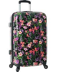 Tommy Bahama Hardside Spinner Suitcase Luggage Suitcase - Multicolor