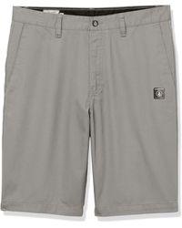 Volcom Vmonty Chino Shorts - Gray