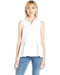 French Connection - Neema Cotton Top - Lyst