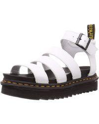 Dr. Martens 'Blaire' Sandalen, 40mm - Weiß