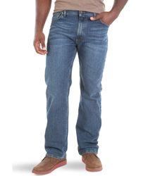 Wrangler Big & Tall Classic Comfort-Waist Jeans - Blau