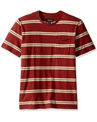 Brixton - Hilt Washed Short Sleeve Pocket Knit - Lyst
