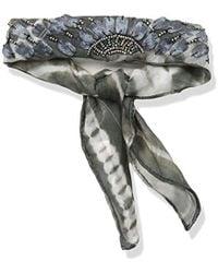 BCBGeneration - Shibori Printed Rolled Necktie Scarf - Lyst