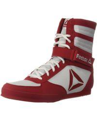 Reebok Boot Boxing Shoe - Red
