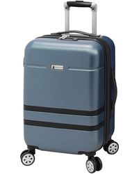 London Fog Southbury Ii Hardside Luggage With Spinner Wheels - Blue