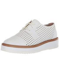 Nine West - Verwin Leather Oxford Flat - Lyst