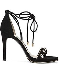 a2284f9ee66 Kenneth Cole - Berry Stud Ankle-laceup Stilleto Dress Sandal Heeled - Lyst