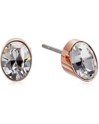Calvin Klein Brilliant Stud Earrings - Metallic
