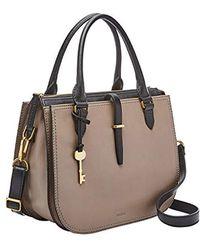 Fossil - Ryder Satchel Handbag - Lyst
