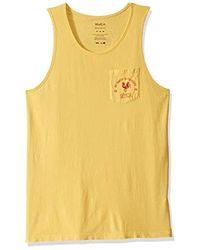 RVCA Ptc Paradise Tank Top - Yellow