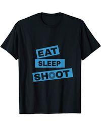 BOSS by Hugo Boss - Eat Sleep Shoot T-shirt - Lyst