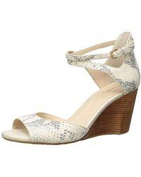 Cole Haan Sadie Grand Open Toe Wedge Sandal - Multicolor