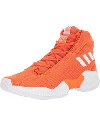 adidas Pro Bounce 2018 Basketball Shoe - Orange