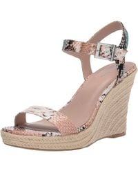 Charles David Womens Wedge Sandal Platform - Multicolor