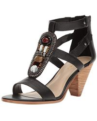 Nine West - Reese Leather Dress Sandal - Lyst