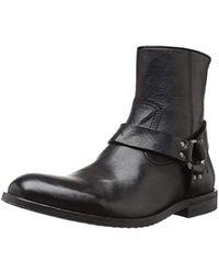 Frye Sam Harness Boot - Black