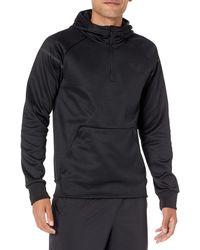 Peak Velocity Black Ops Quarter-zip Water-resistant Fleece Athletic-fit