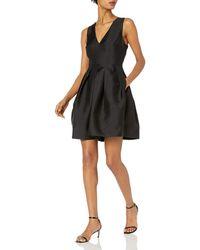 Erin Fetherston Erin Devon Silk Party Dress - Black