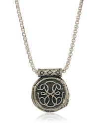ALEX AND ANI Path Of Life 32-inch Pendant Necklace - Metallic
