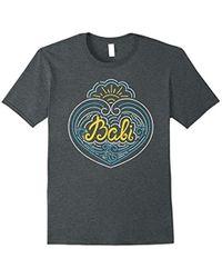 Bali - Love Tshirt - Indonesia Tropical Souvenir Tee - Lyst