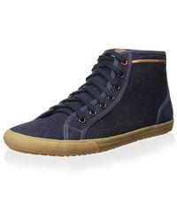 Ben Sherman Conall Hi Fashion Sneaker - Blue