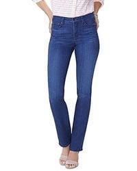 NYDJ - Marilyn Straight Leg Jeans In Sure Stretch Denim - Lyst
