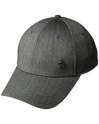 Original Penguin - Herringbone A-flex Baseball Cap - Lyst adde8f4cd0f4