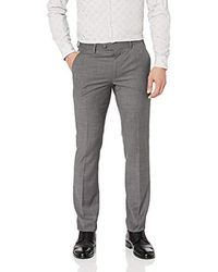 Original Penguin Slim Fit Dress Pant - Gray