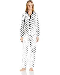 Betsey Johnson - Gift Packaged Cozy Flannel Pj - Lyst