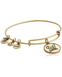 ALEX AND ANI - Milwaukee Brewers Cap Logo Expandable Bangle Bracelet - Lyst