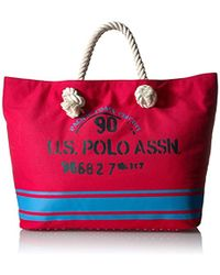 U.S. POLO ASSN. - Us Polo Association New Hampshire Ii Rope Tote - Lyst