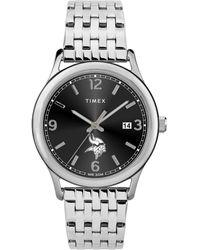 Timex Twzfvikwc Nfl Sage Minnesota Vikings Watch - Metallic