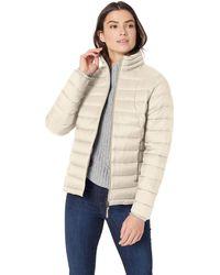 Amazon Essentials Lightweight Long-sleeve Full-zip Water-resistant Packable Puffer Jacket - Natural