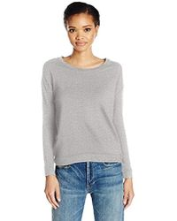 Majestic Filatures - French Terry Drop-shoulder Pullover - Lyst