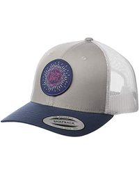 Columbia Snap Back Hat, Breathable, Adjustable - Multicolor