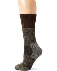 Carhartt Womens Cold Weather Boot Casual Sock - Brown